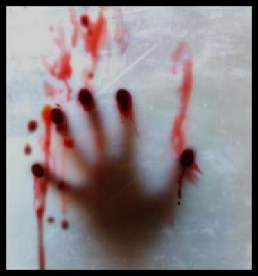 huellas de sangre